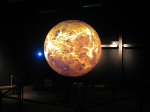Science on a Sphere exhibit
